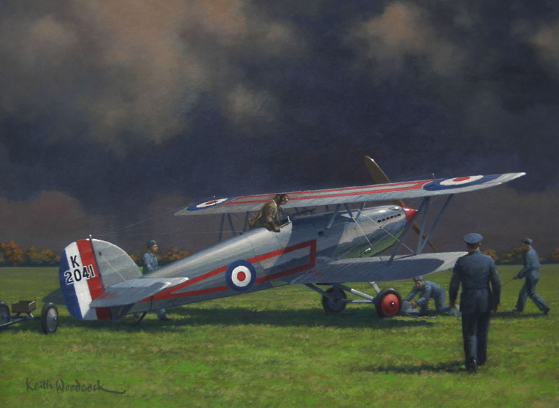 HAWKER FURY, AFTER THE STORM