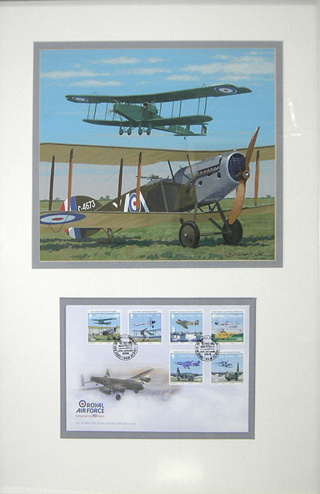 BRISTOL FIGHTER F2B and HANDLEY PAGE 0/400