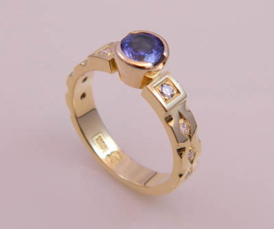 Sapphire Ring with