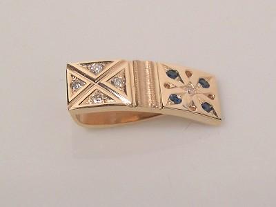 Sapphire Diamond Slide