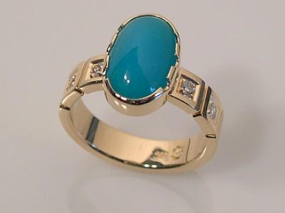 Chrysocolla Ring