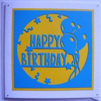 Happy Birthday Die Cut