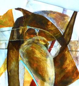 'Untitled' (Haining Collage I) Mixed Media on Paper 40x35cm