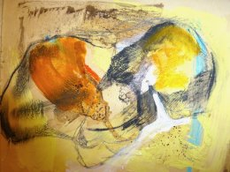 'Castelli' Mixed Media on Paper 20x15cm