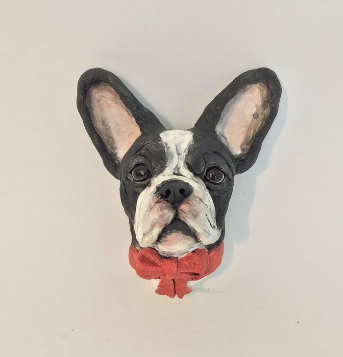 Frenchie wall hanging