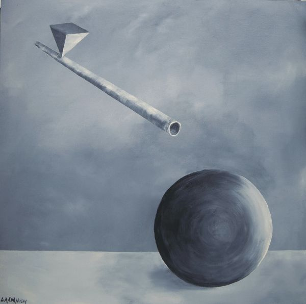 GREY AIR £250 XL  PAINTING