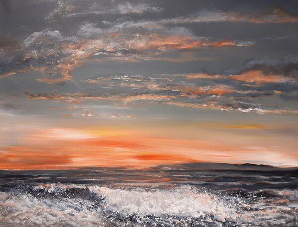 Waves At Sundown £100