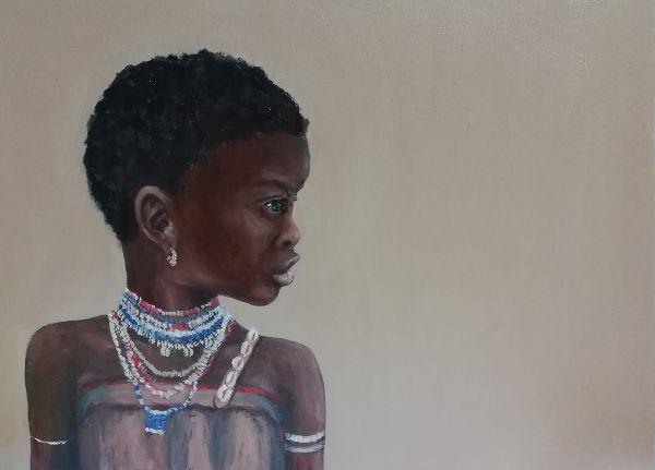 African girl £40