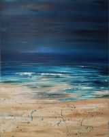 Deep Blue XL painting SOLD