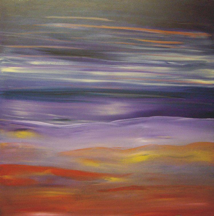 Miasma £50.00 + p&p  XL painting