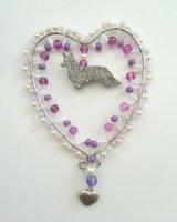 Purple Heart Corgi