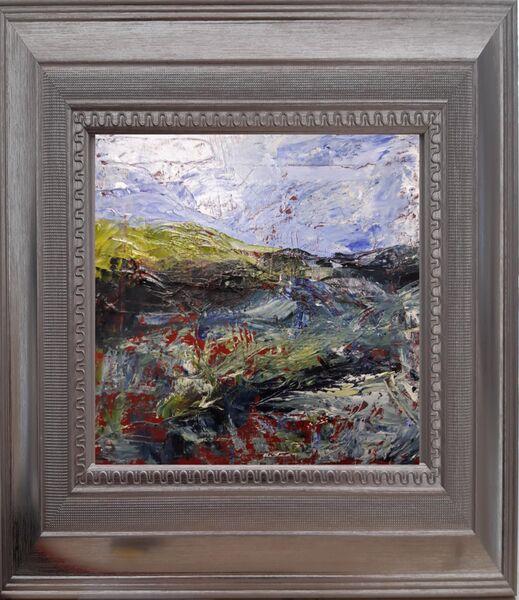 Red Ochre Landscape (framed)