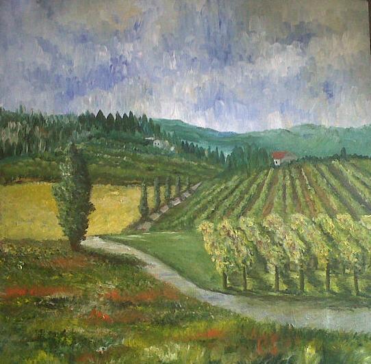 Vineyards - Now sold