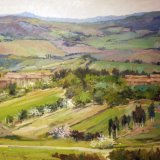 32. 'Campagna Toscana', 50x70cm
