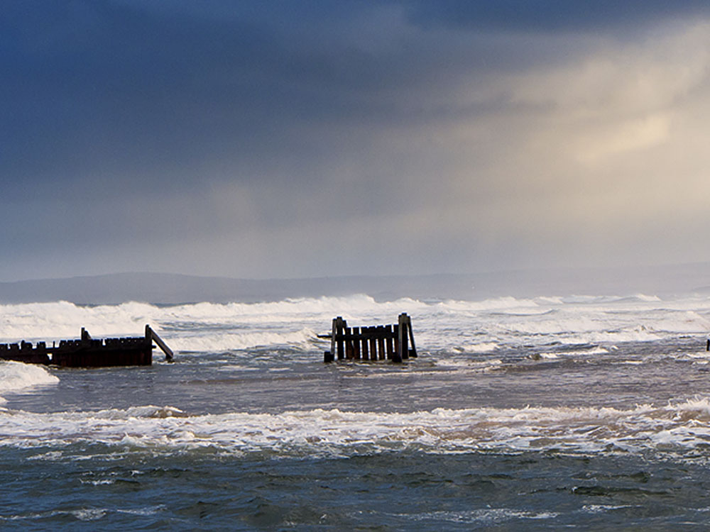 Approaching Storm, Lossiemouth