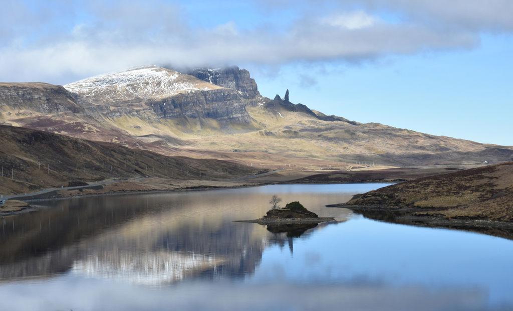 Over Loch Fada