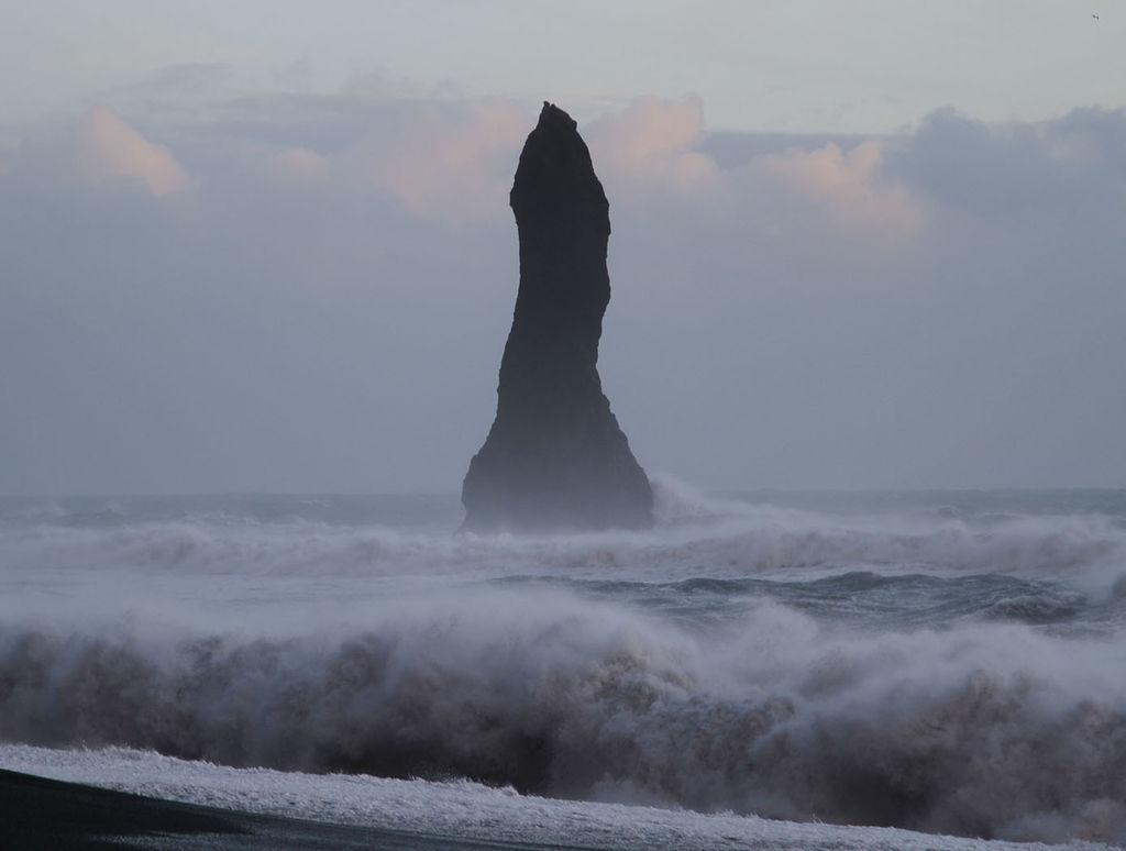 Protrusion at Black Beach