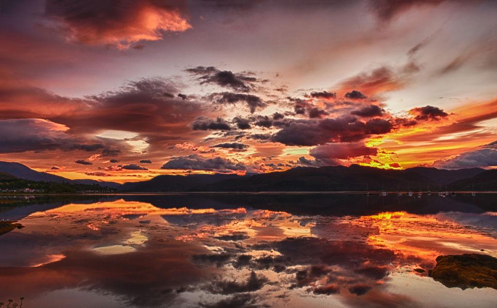 Sunrise over Loch Carron