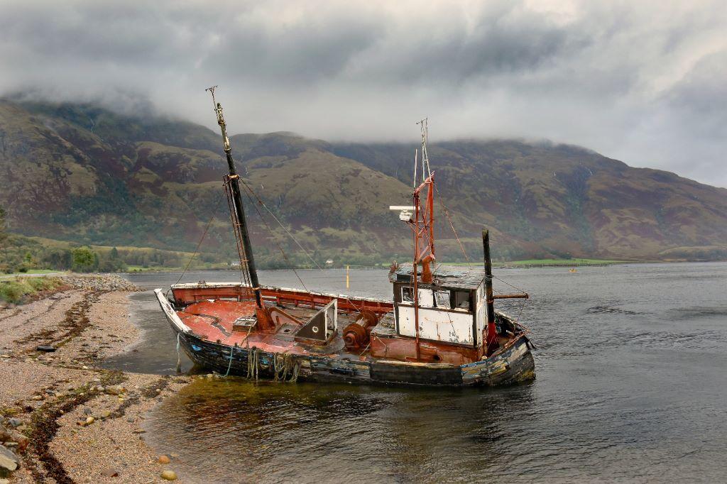 Wreck at Ardour