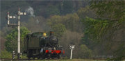 GWR 2-6-2T Tank Engine --4160