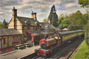 Lakeside and Haverthwaite Railway Station