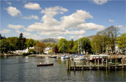 Ambleside from Lake Windermere