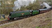 """""""West Country"""" class WADEBRIDGE 34007"""