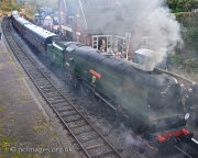 West Country Class, Wadebidge 34007