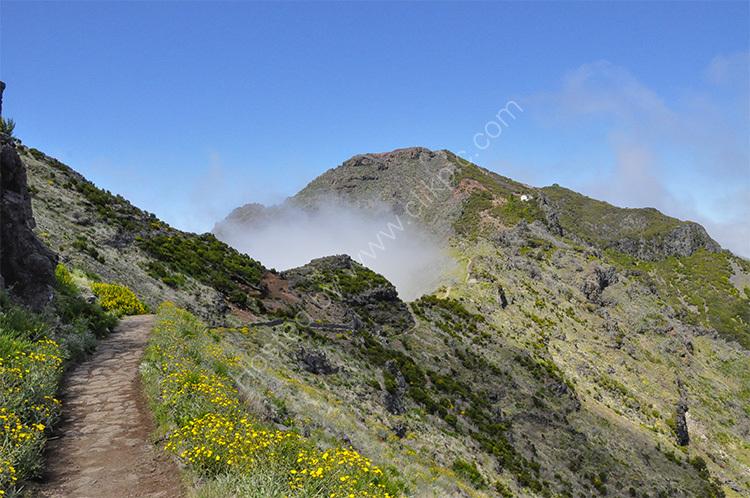 Slopes of Pico Ruivo