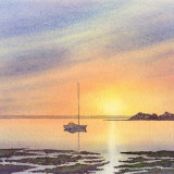 Chichester Harbour at sunset