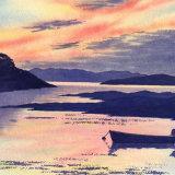 Sunset in Bunessan Bay