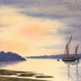 Sunset at Dell Quay - Chichester Harbour