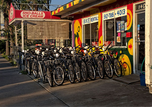 Bike Hire, Tybee Island