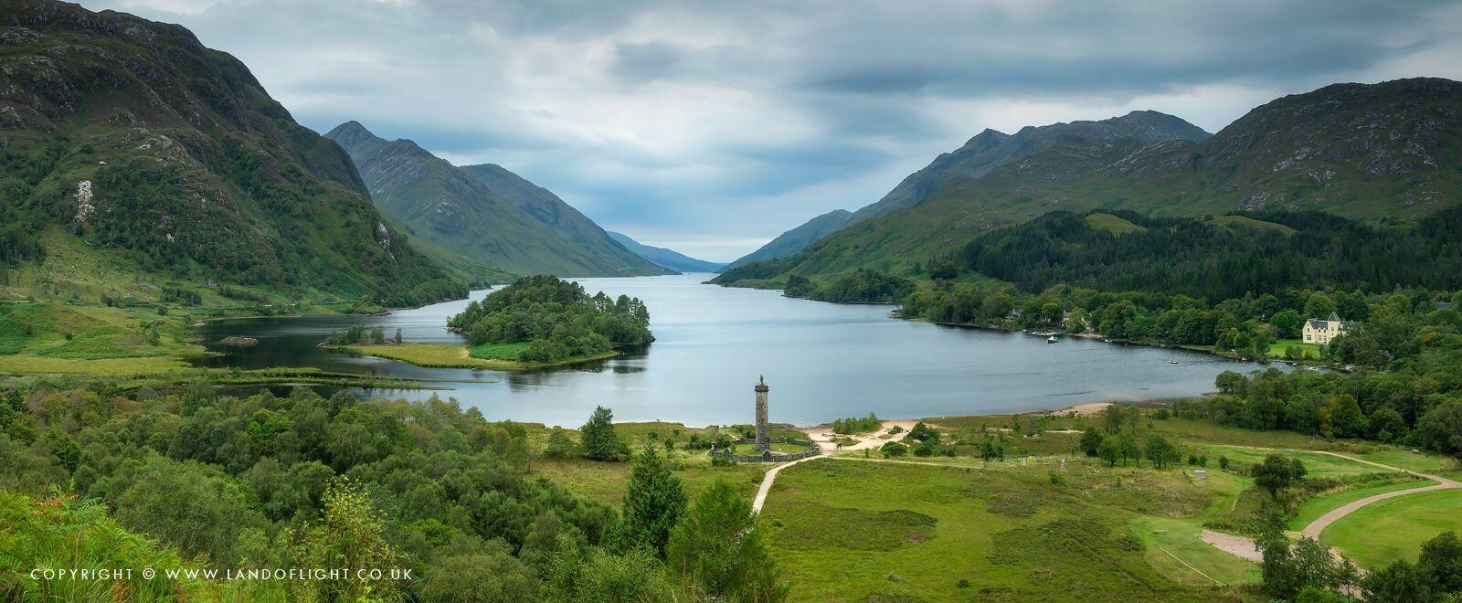 Glenfinnan Monument & Loch Shiel