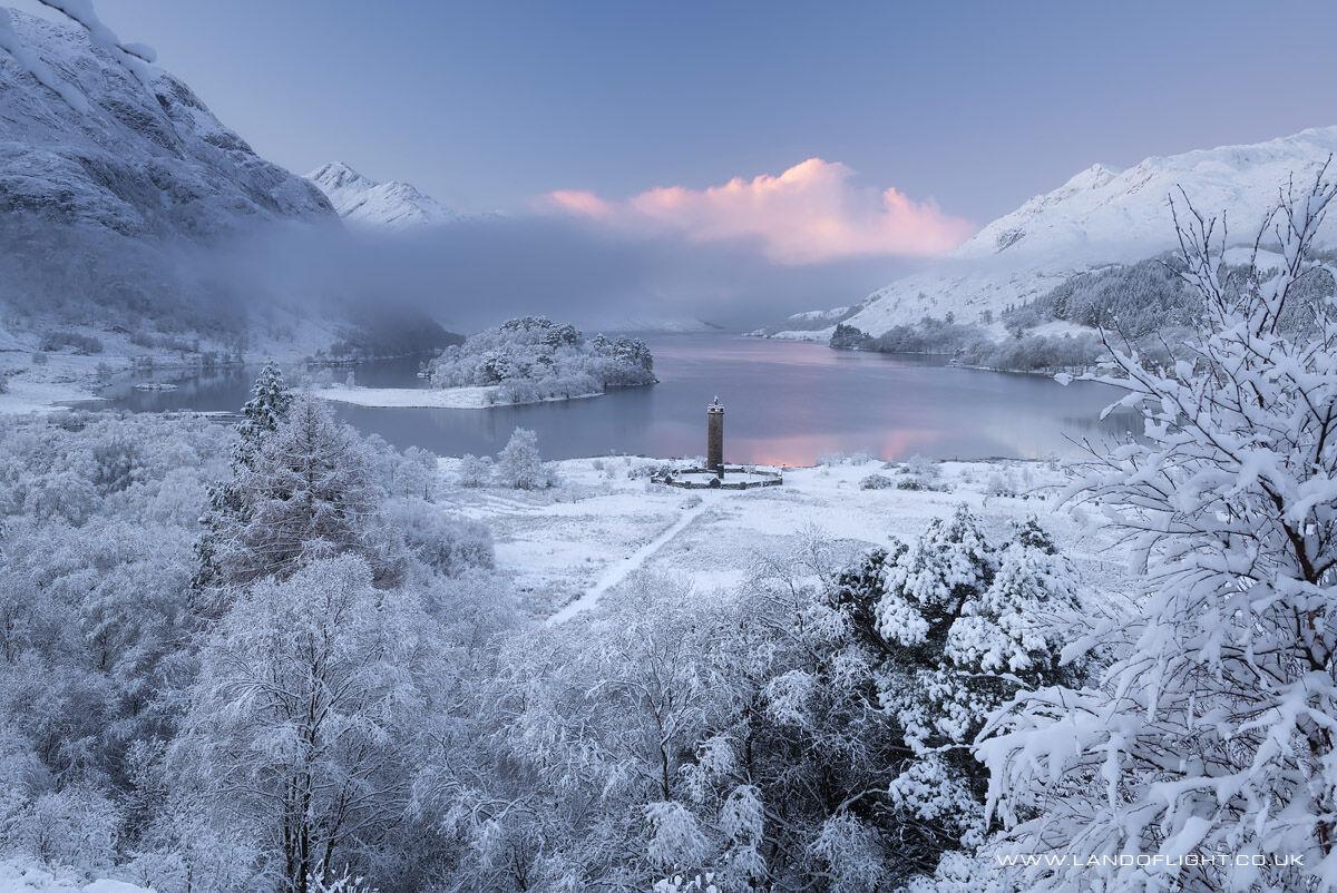 Glenfinnan at sunrise, Scotland