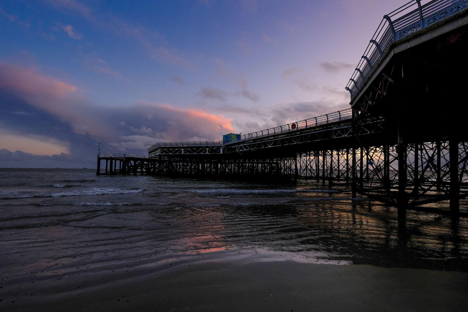 Southsea pier sunset