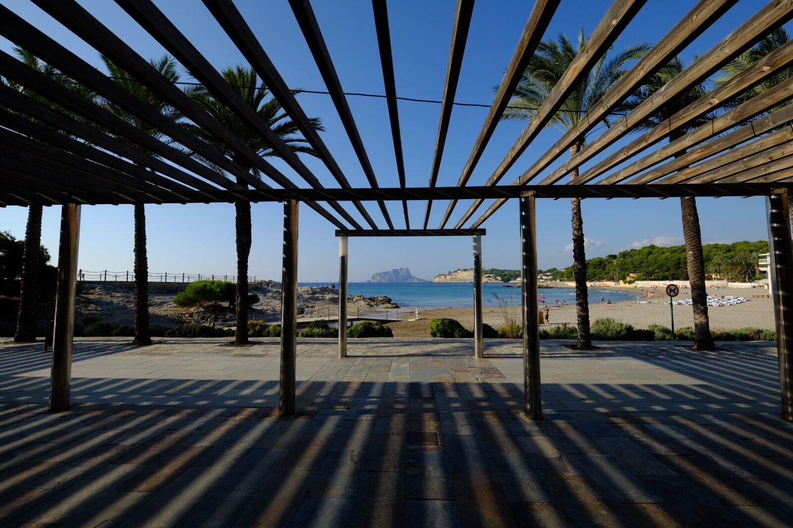 Moraira L'Ampolla Beach Spain