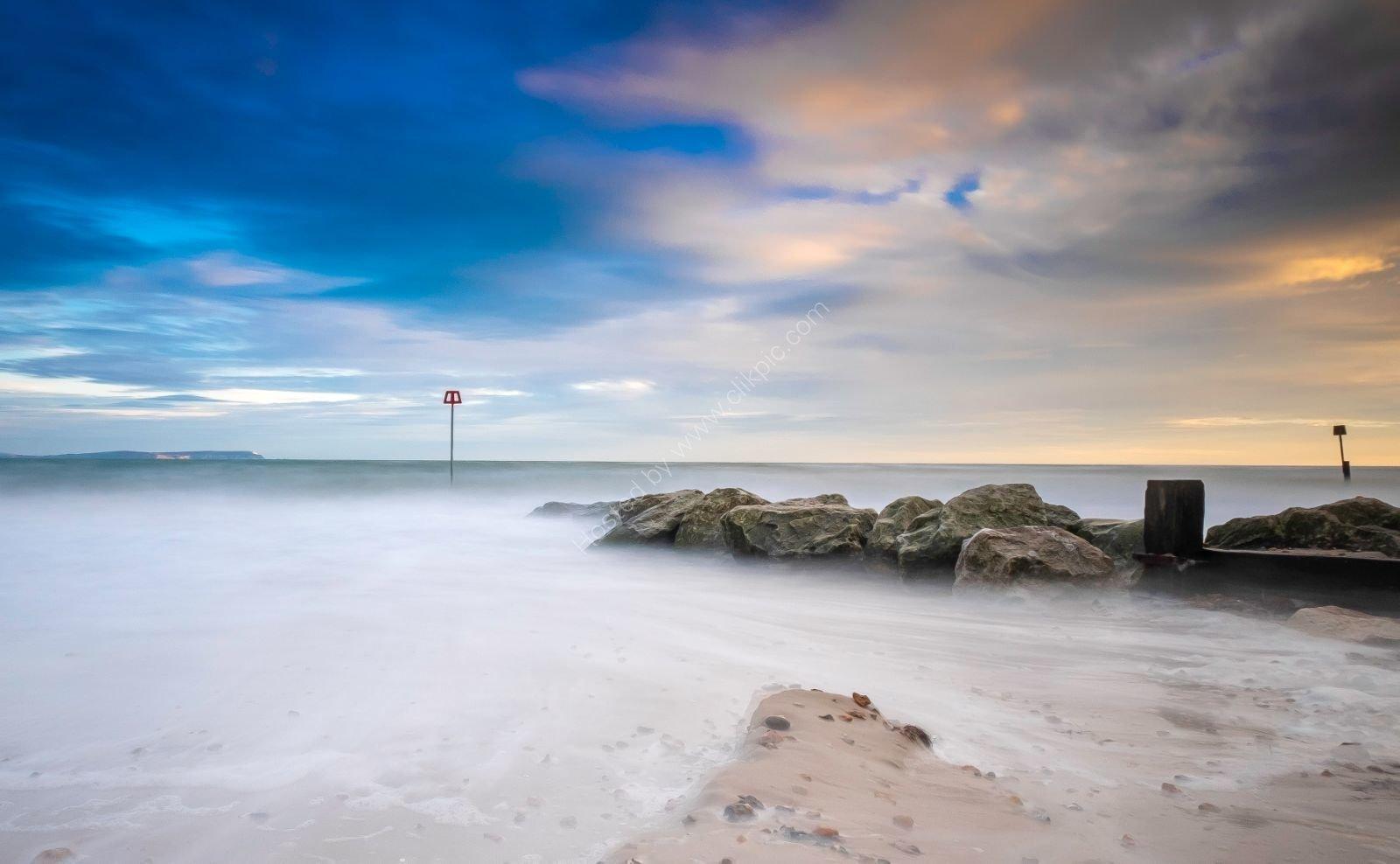 Mudeford Beach Winter