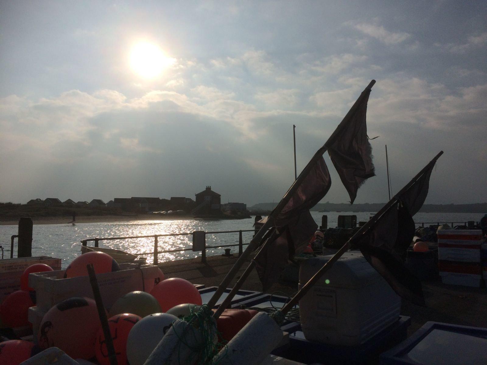 Fishing gear Mudeford Dorset-2