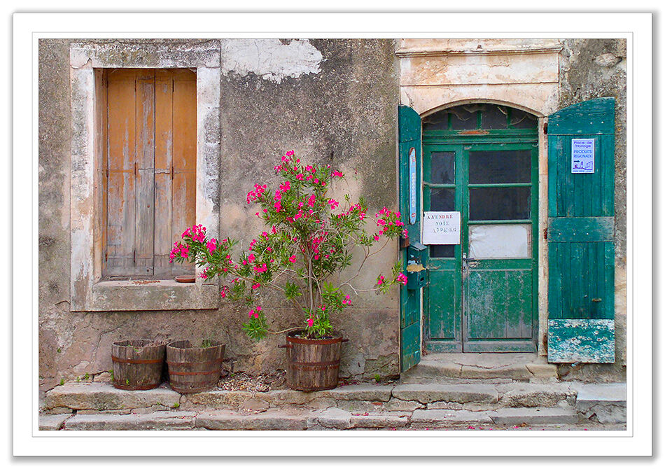 Street Scene, Bonnieux