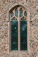 Rushall church window