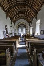 Rushall Church interior