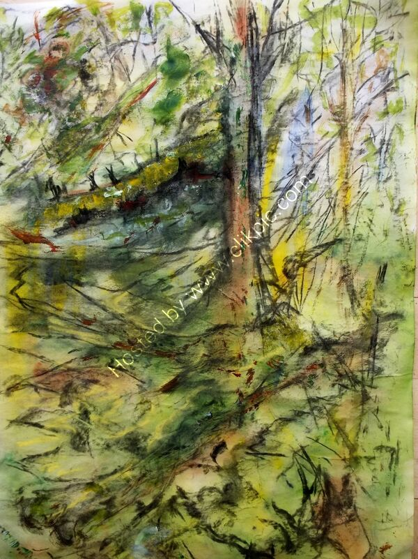 Forest Study 4  Isle of Bute