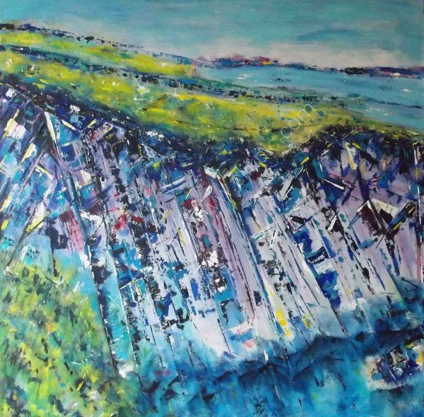Cliff Edge   SOLD