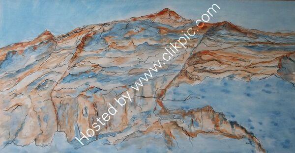 Landscape in a Rock