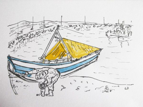 Painting the Coble