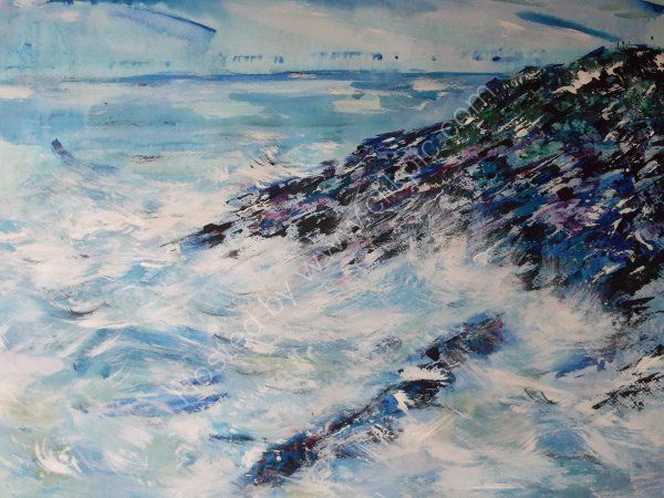 Coast beyond Howick