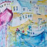 Summer at Amble Harbour   SOLD