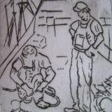 Amble fishermen, past and present
