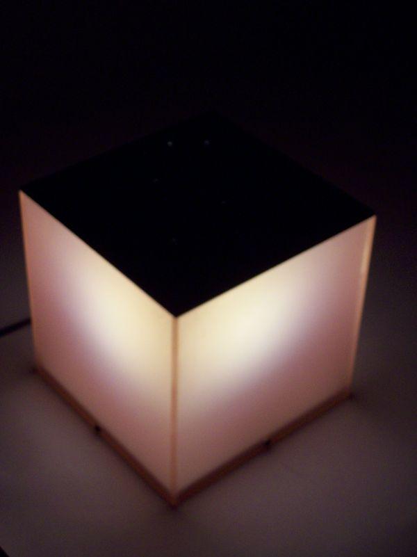 Zodiac lamp, front view